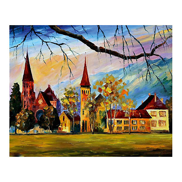 Molly Картина по номерам Афремов: Швейцария, 40*50 см картина по номерам 40 x 50 см ktmk 393605
