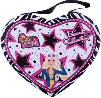 Игровой косметический набор  Сердце , Totally Fashion, артикул:5418945 - Наборы детской косметики