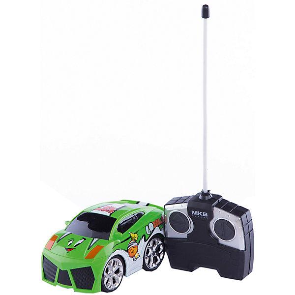 Фотография товара машинка на радиоуправлении Mini, бело-зеленая, Blue Sea (5419369)
