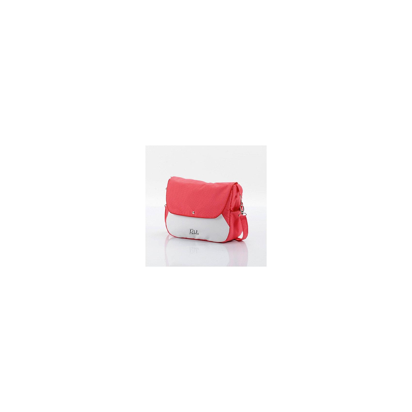 Коляска  AroTeam PABLO New 2в1, розовая сетка