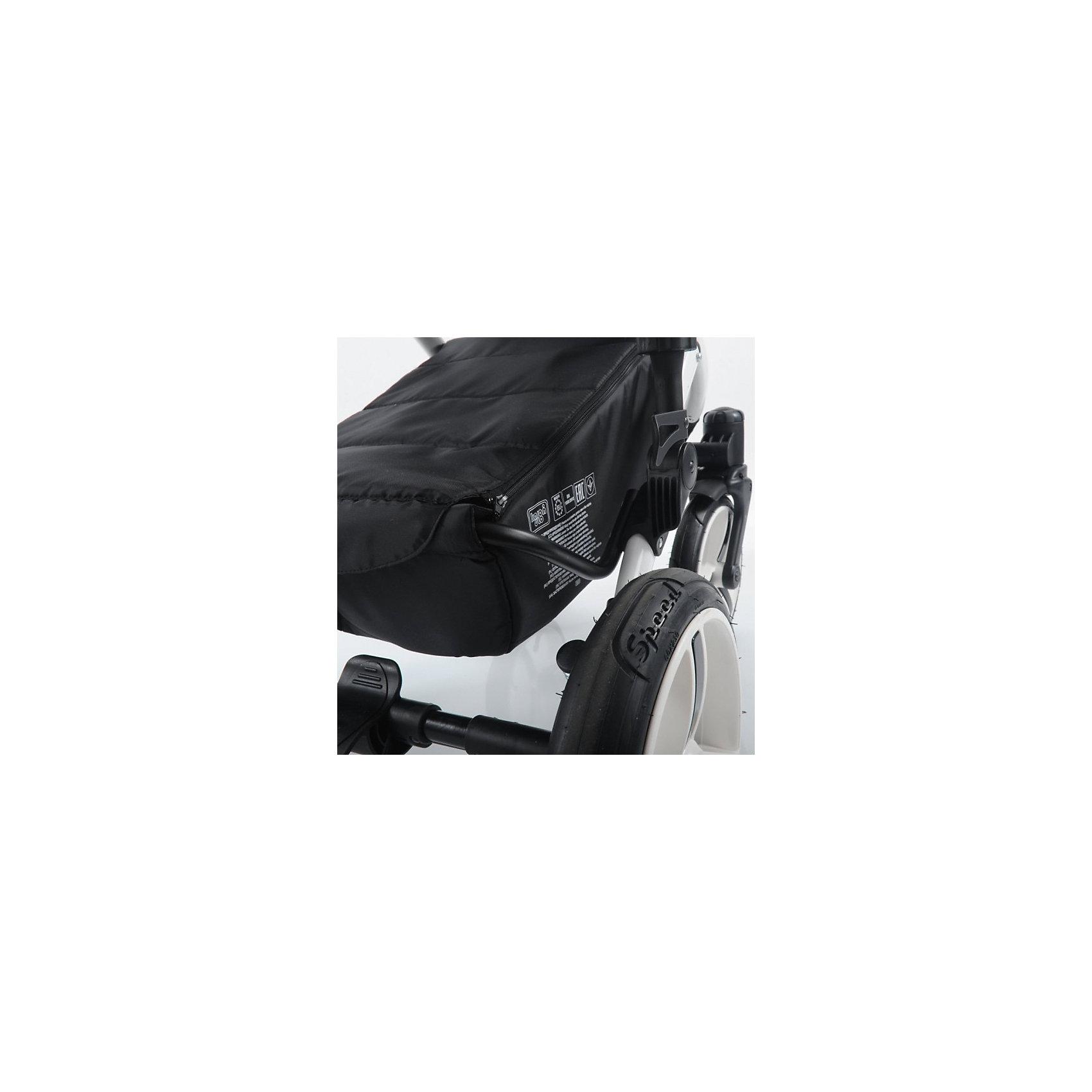 Коляска  AroTeam PABLO New 2в1, светло-серая сетка