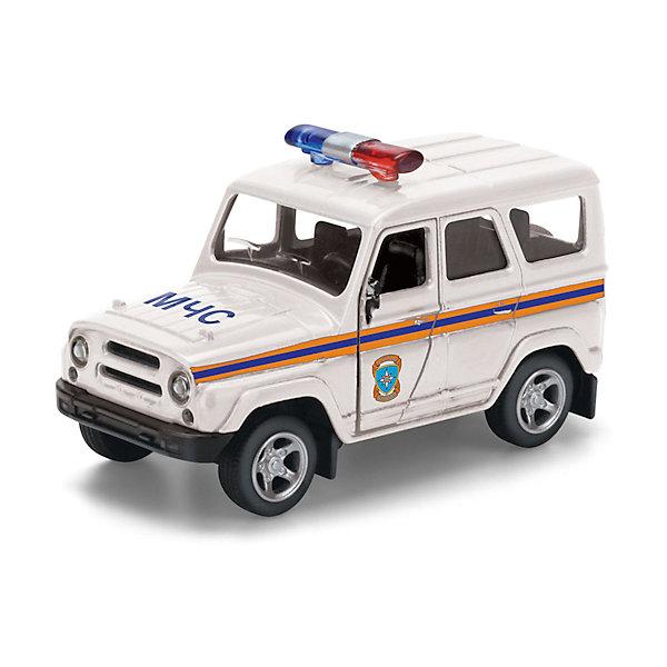 ТЕХНОПАРК Машинка Технопарк YAZ Hunter МЧС, 8,5 см технопарк машинка инерционная уаз hunter полиция