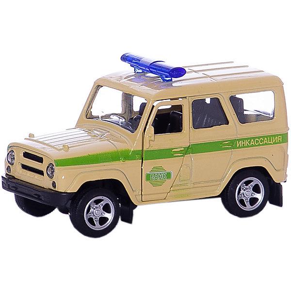 Машина УАЗ HUNTER, ТЕХНОПАРКМашинки<br>Характеристики:<br><br>• тип игрушки: машина;<br>• возраст: от 3 лет;<br>• размер: 20х14х5 см;<br>• цвет: бежевый;<br>• материал: металл, пластик;<br>• бренд: Технопарк;<br>• страна производителя: Китай.<br><br>Машина Технопарк «УАЗ HUNTER»  будет отличным подарком для каждого ребенка. Игрушка выполнена в реалистичной манере и достаточно детализирована.<br>Тематические игры с интересными сюжетами разбудят воображение ребёнка, а манипуляции с игрушкой потренируют мелкую моторику пальцев рук. Масштабные модели от компании «Технопарк» отличаются качественными ударопрочными материалами, продлевающими долговечность изделия тщательным исполнением со вниманием ко всем деталям, и имеют требуемые сертификаты соответствия для детских игрушек.<br><br>Машину Технопарк  «УАЗ HUNTER» можно купить в нашем интернет-магазине.<br>Ширина мм: 60; Глубина мм: 130; Высота мм: 150; Вес г: 130; Возраст от месяцев: 36; Возраст до месяцев: 84; Пол: Мужской; Возраст: Детский; SKU: 5420355;