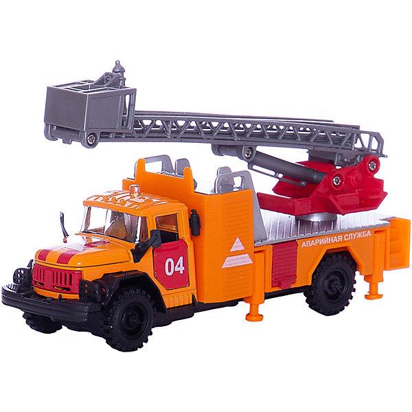 Машина ЗИЛ 131 Аварийная, свет+звук, ТЕХНОПАРКМашинки<br>Характеристики:<br><br>• тип игрушки: машина;<br>• возраст: от 3 лет;<br>• размер: 6х22х15 см;<br>• масштаб: 1:43;<br>• цвет: оранжевый;<br>• материал: металл, пластик;<br>• бренд: Технопарк;<br>• страна производителя: Китай.<br><br>Машина Технопарк «ЗИЛ 131 Аварийная» представляет собой уменьшенную копию распространенной аварийной машины в России. Открывающиеся двери и капот, раздвижная лестница делают машину максимально похожей на оригинальную. Игрушка имеет инерционный механизм движения: если машину потянуть к себе и отпустить, она поедет вперед по инерции.<br><br> Также игрушка имеет световые и звуковые эффекты, которые придают машине реалистичность и делают процесс игры увлекательнее. Благодаря этой игрушке ребенок будет узнавать особенности строения машины, а также развивать ручную моторику. С такой машиной можно выезжать на срочные вызовы, вообразив себя работником аварийной службы.<br><br>Тематические игры с интересными сюжетами разбудят воображение ребёнка, а манипуляции с игрушкой потренируют мелкую моторику пальцев рук. Масштабные модели от компании «Технопарк» отличаются качественными ударопрочными материалами, продлевающими долговечность изделия тщательным исполнением со вниманием ко всем деталям, и имеют требуемые сертификаты соответствия для детских игрушек.<br><br>Машину Технопарк «ЗИЛ 131 Аварийная» можно купить в нашем интернет-магазине.<br>Ширина мм: 60; Глубина мм: 90; Высота мм: 220; Вес г: 220; Возраст от месяцев: 36; Возраст до месяцев: 84; Пол: Мужской; Возраст: Детский; SKU: 5420370;