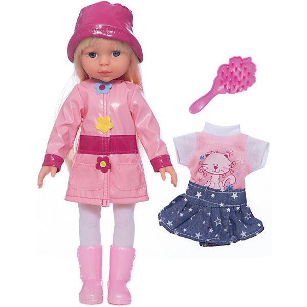 Карапуз Кукла, с аксессуарами, в осенне-весенней одежде, 33 см, со звуком, Карапуз