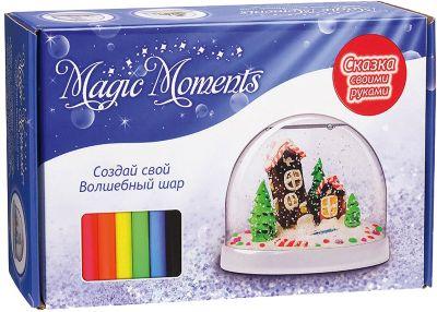 Набор Создай Волшебный шар со снегом  Домики , артикул:5426803 - Товары для лепки