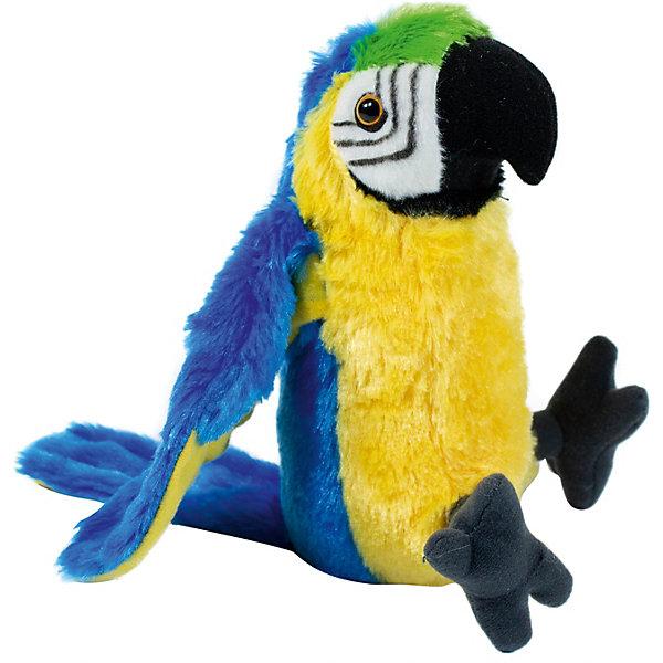 Wild Republic Мягкая игрушка republic CuddleKins Сине-жёлтый ара, 33 см