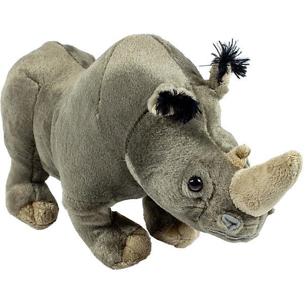 Wild Republic Мягкая игрушка republic CuddleKins Носорог взрослый, 35 см