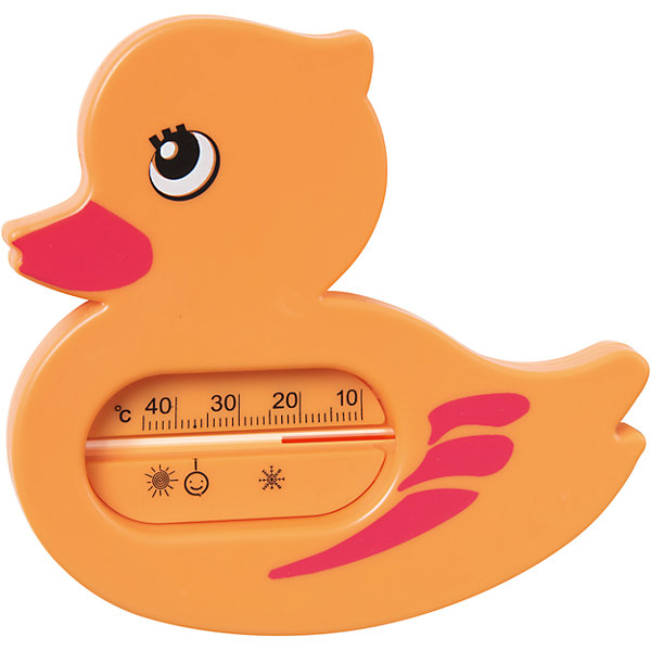 Купить Термометр для ванной Уточка , Kurnosiki, оранжевый, Курносики, Россия, Унисекс