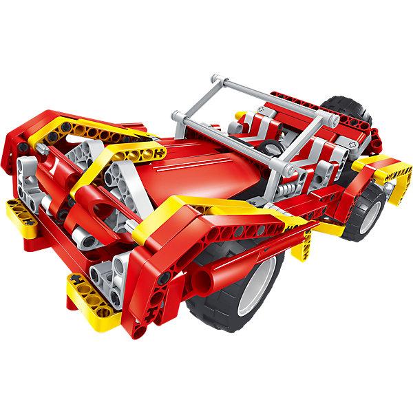 Конструктор электромеханический Raging Fire, 472 детали, QiHuiРадиоуправляемые машины<br>Конструктор электромеханический Raging Fire, 472 детали, QiHui<br><br>Характеристики:<br><br>• Возраст: от 7 лет<br>• Количество деталей: 472<br>• В комплекте: инструкция, детали для сборки, пульт управления и антенна, аккумулятор, зарядное устройство<br>• Дальность действия: 20 метров<br>• Максимальная скорость: 11 км/ч<br><br>Этот конструктор рекомендуется для игр детей от 7 лет. В процессе работы с ним ребенок может не только увлечься и провести долгое время за изучением набора, но и развивать свое пространственное мышление, мелкую моторику и, конечно, воображение. Этот набор позволяет ребенку собрать себе настоящую радиоуправляемую машину! <br><br>В комплект входит конструктор для сборки 2-х автомобилей, пульт радиоуправления и аккумулятор. Дальность действия пульта составляет 20 метров. Готовая машинка может ездить вперед-назад и поворачивать влево-вправо. Ее максимальная скорость – 11 км/ч. Набор содержит внутри подробную инструкцию по сборке своего собственного радиоуправляемого автомобиля.<br><br>Конструктор электромеханический Raging Fire, 472 детали, QiHui можно купить в нашем интернет-магазине.