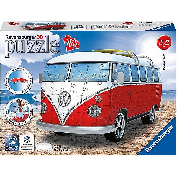 Купить 3D Пазл VW Bus T1, 162 эл., Ravensburger, Чехия, Унисекс