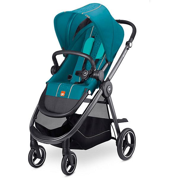 GB Прогулочная коляска GB Beli Air 4 Capri, blue синий коляска прогулочная gb beli air 4 capri blue