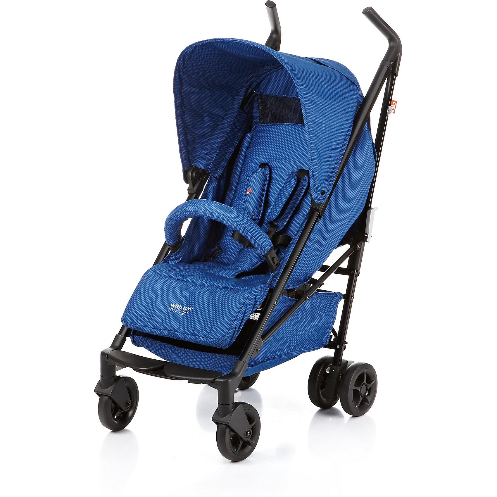 Прогулочная коляска GB Majik, d2040 Blue