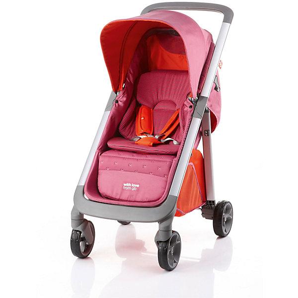 GB Прогулочная коляска GB Motif c1020, Pink коляска прогулочная gb pockit lizard khaki