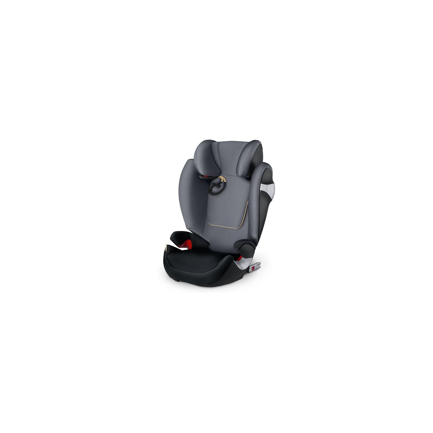 Автокресло Cybex Solution M-Fix, 15-36 кг, Graphite Black