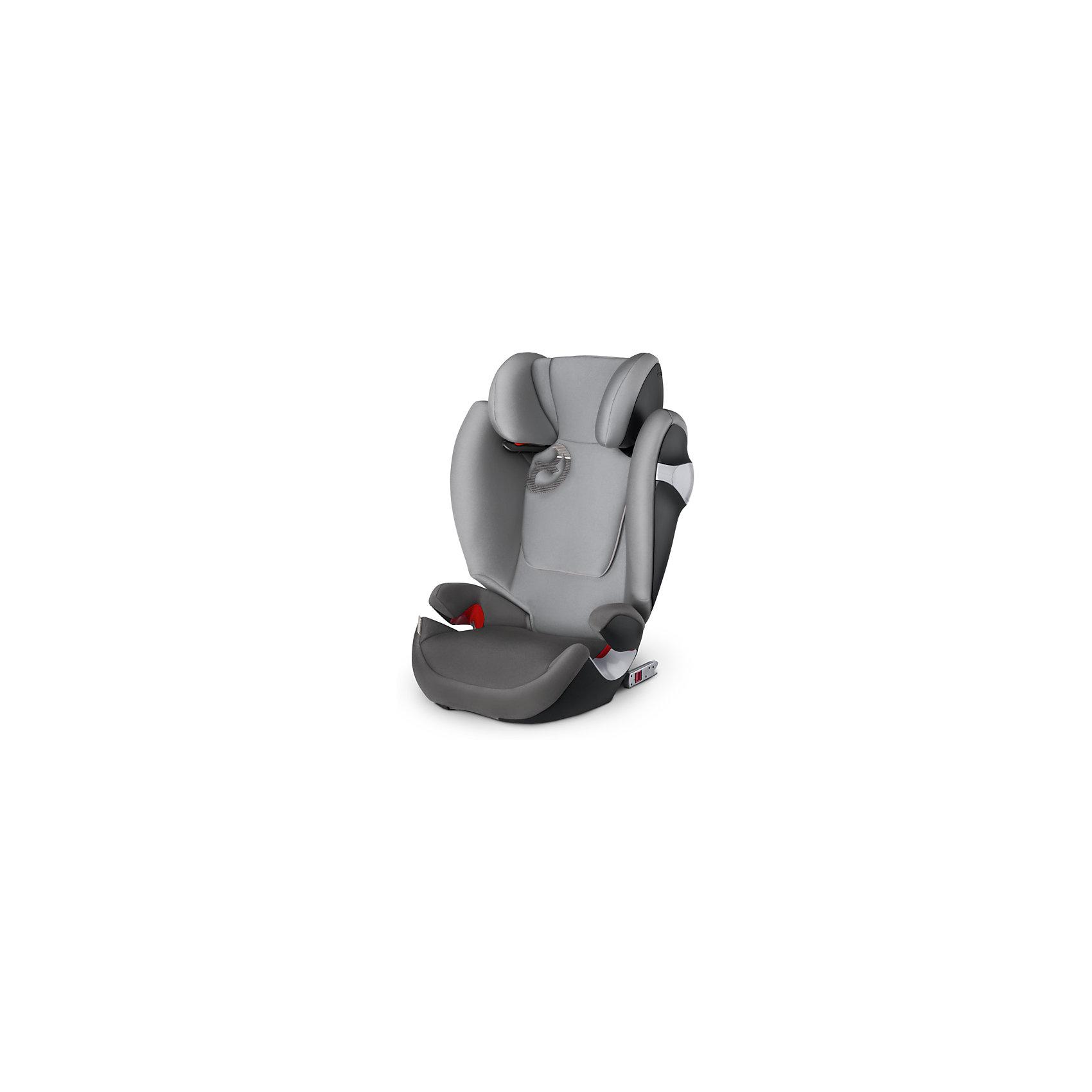 Автокресло Cybex Solution M-Fix, 15-36 кг, Manhattan Grey