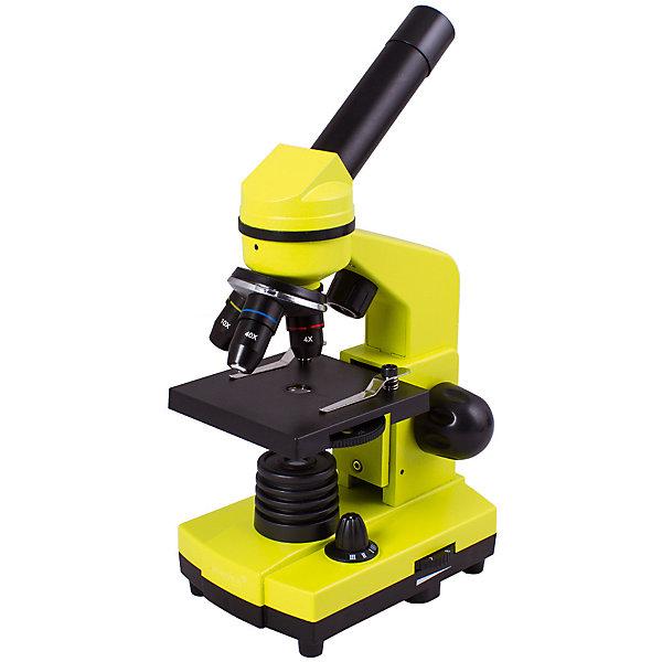 цена на Levenhuk Микроскоп Levenhuk Rainbow 2L Lime\Лайм