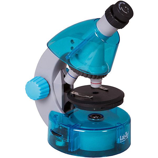 Микроскоп Levenhuk LabZZ M101 Azure\ЛазурьМикроскопы<br>Характеристики товара:<br><br>• материал: металл, пластик<br>• увеличение: до 640 крат<br>• набор для опытов в комплекте<br>• прочный металлический корпус<br>• подсветка: светодиод<br>• лампа работает от батареек 2хАА<br>• комплектация: микроскоп, объективы: 4х, 10х и 40хs, окуляр: WF10x–16x (двухпозиционный), Предметный столик с зажимами, диск с диафрагмами, конденсор, встроенные нижний и верхний осветители на светодиодах, сетевой адаптер (питание 220 В, 50 Гц), инструкция по эксплуатации и гарантийный талон, пинцет, инкубатор для артемии, микротом, флакон с дрожжами, флакон со смолой для изготовления препаратов, флакон с морской солью, флакон с артемией (морским рачком), 5 готовых образцов и 5 чистых предметных стекол, пипетка, пылезащитный чехол<br>• страна бренда: США<br>• страна производства: КНР<br><br>Собственный микроскоп - это отличный способ заинтересовать ребенка наукой и привить ему интерес к учебе. Эта модель микроскопа была разработана специально для детей - он позволяет увеличивать препарат в 640 крат, с помощью этого дети могут исследовать состав и структуру разнообразных предметов, веществ и организмов. Благодаря стильному дизайну этот микроскоп отлично вписывается в интерьер!<br><br>Оптические приборы от американской компании Levenhuk уже успели зарекомендовать себя как качественная и надежная продукция. Для их производства используются только безопасные и проверенные материалы. Такой прибор способен прослужить долго. Подарите ребенку интересную и полезную вещь!<br><br>Микроскоп Levenhuk LabZZ M101 Azure\Лазурь камень от известного бренда Levenhuk (Левенгук) можно купить в нашем интернет-магазине.<br>Ширина мм: 130; Глубина мм: 185; Высота мм: 270; Вес г: 930; Возраст от месяцев: 60; Возраст до месяцев: 2147483647; Пол: Унисекс; Возраст: Детский; SKU: 5435287;