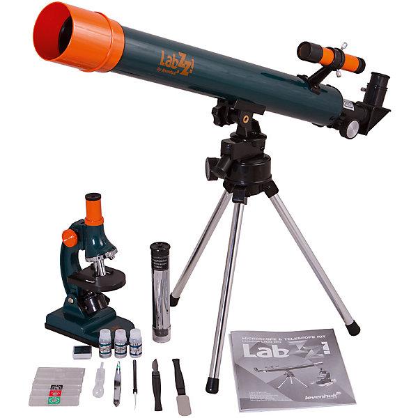 Levenhuk Набор Levenhuk LabZZ MT2: микроскоп и телескоп окуляр levenhuk левенгук kellner wa 40 мм 2