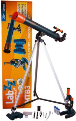 Набор Levenhuk LabZZ MTВ3: микроскоп, телескоп и бинокль, артикул:5435293 - Оптические приборы