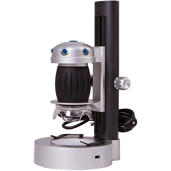 Микроскоп цифровой Bresser National Geographic USB, со штативомМикроскопы<br>Характеристики товара:<br><br>• материал: металл, пластик<br>• цифровой<br>• увеличение: до 200 крат<br>• системные требования: Win XP SP2, Win Vista/7, не менее 1 ГБ оперативной памяти, порт USB 2.0, CD/DVD-Rom<br>• подсветка: светодиодная<br>• подсветка работает от батареек 2хАА<br>• возможность записи фото (кнопка)<br>• вес: 0,67 кг<br>• размер: 23х13х11 см<br>• комплектация: микроскоп, готовые препараты, диск с ПО, штатив<br>• страна бренда: Германия<br><br>В этом наборе есть всё необходимое, чтобы приступить к опытам немедленно! Собственный микроскоп - это отличный способ заинтересовать ребенка наукой и привить ему интерес к учебе. Эта модель микроскопа была разработана специально для детей - он позволяет увеличивать препарат в 640 крат, с помощью этого дети могут исследовать состав и структуру разнообразных предметов, веществ и организмов. Благодаря стильному дизайну этот микроскоп отлично вписывается в интерьер!<br><br>Оптические приборы от немецкой компании Bresser уже успели зарекомендовать себя как качественная и надежная продукция. Для их производства используются только безопасные и проверенные материалы. Такой прибор способен прослужить долго. Подарите ребенку интересную и полезную вещь!<br><br>Микроскоп цифровой Bresser National Geographic USB, со штативом, от известного бренда Bresser (Брессер) можно купить в нашем интернет-магазине.<br>Ширина мм: 230; Глубина мм: 135; Высота мм: 110; Вес г: 670; Возраст от месяцев: 60; Возраст до месяцев: 2147483647; Пол: Унисекс; Возраст: Детский; SKU: 5435308;