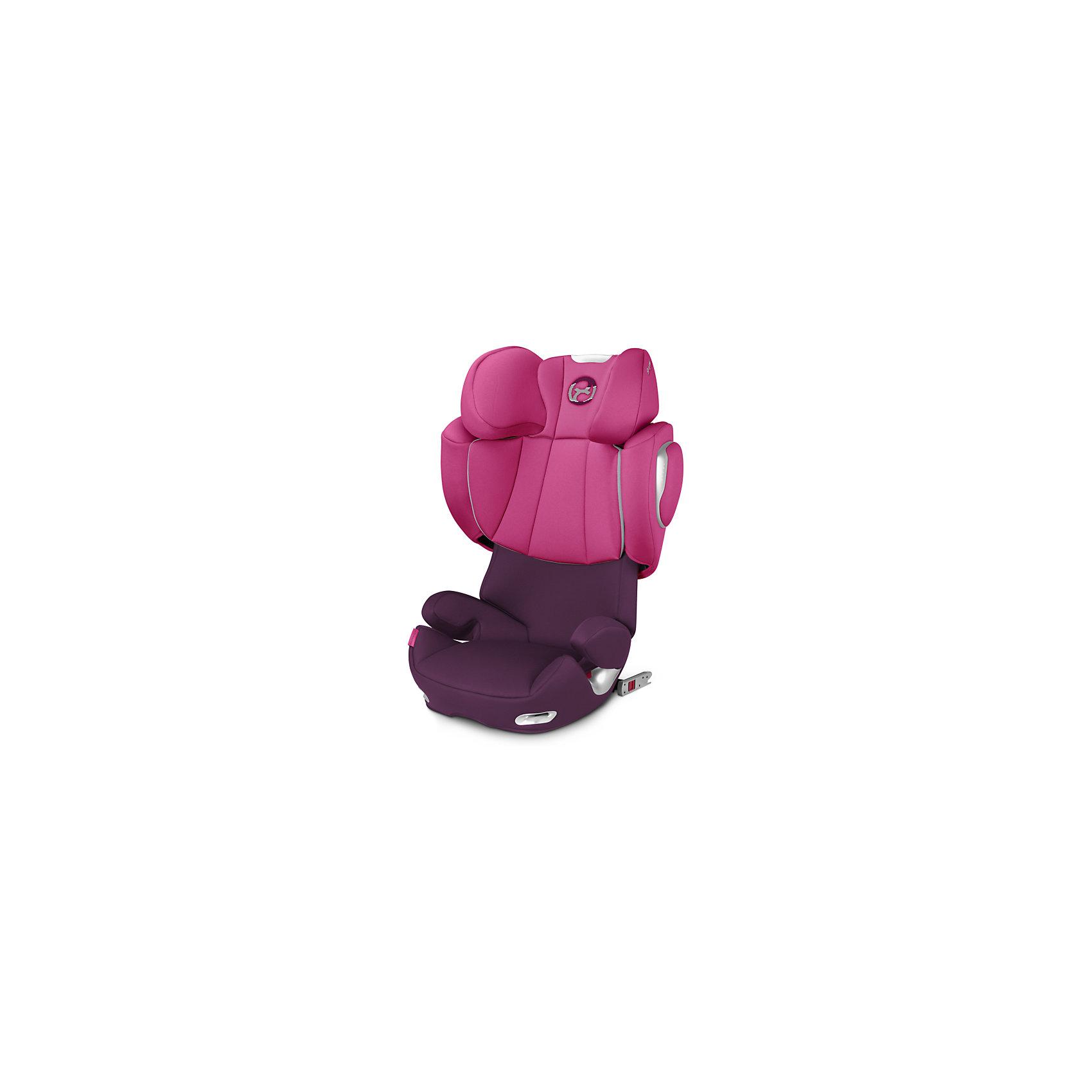 Автокресло Cybex Solution Q3-fix, 15-36 кг, Mystic Pink