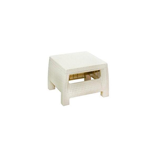 Стол Ротанг, квадратный, Alternativa, слоновая костьДетские столы и стулья<br>Стол Ротанг 570х515х420, Alternativa (Альтернатива), слоновая кость<br><br>Характеристики:<br><br>• подходит в качестве журнального столика<br>• приятный дизайн<br>• материал: пластик<br>• размер стола: 57х51,5х42 см<br>• вес: 3,38 кг<br>• цвет: слоновая кость<br><br>Стол Ротанг от российского производителя Альтернатива прекрасно подойдет в качестве домашнего журнального столика или для полноценного отдыха на природе. Широкие ножки обеспечивают столику хорошую устойчивость на поверхностях. Лаконичный дизайн стола хорошо впишется в интерьер любого помещения.<br><br>Стол Ротанг 570х515х420, Alternativa (Альтернатива), слоновая кость можно купить в нашем интернет-магазине.<br>Ширина мм: 570; Глубина мм: 515; Высота мм: 420; Вес г: 3300; Возраст от месяцев: 12; Возраст до месяцев: 1188; Пол: Унисекс; Возраст: Детский; SKU: 5436207;