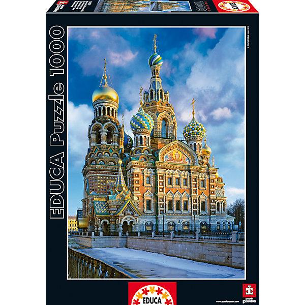 цена на Educa Пазл Храм Спас на Крови, Санкт-Петербург, 1000 деталей, Educa