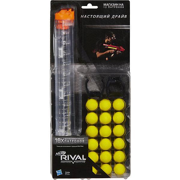 Hasbro Игровой набор Nerf Rival Запасной магазин + 18 шариков hasbro nerf b1594 нерф райвал запасной магазин 18 шариков