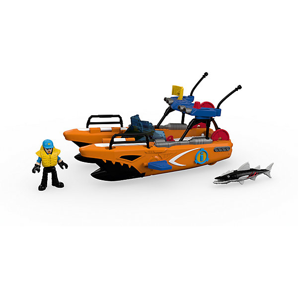Спасательная турбо-лодка Fisher Price Imaginext от Mattel