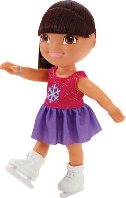 Кукла Даша на катке, Fisher Price, Даша-путешественница, артикул:5440322 - Даша-путешественница