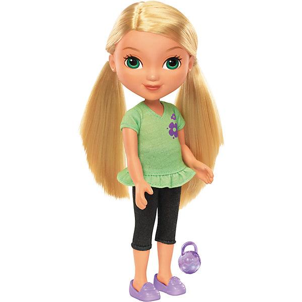 Кукла Алана, Fisher Price, Даша и друзьяДаша-путешественница<br>Кукла Алана, Fisher Price, Даша и друзья.<br><br>Характеристики:<br><br>• В наборе: кукла, шармик для браслета<br>• Высота куклы: 20 см.<br>• Материал: пластик, текстиль<br><br>Кукла Алана из серии Даша и друзья от Fisher-Price - игрушка, о которой мечтают все девочки, следящие за приключениями героев популярного детского мультфильма. Алана использует все свои способности, чтобы игры с ней могли быть наполнены приключениями. Кукла одета в зеленый топ и черные лосины. На ногах у Аланы - фиолетовые туфли. Лицо куклы тщательно прорисовано. У Аланы большие выразительные зеленые глаза. Волосы прошиты густо, они длинные и мягкие, их можно расчесывать и заплетать. Руки и ноги куклы подвижны, шарниров в суставах нет. <br><br>Кукла изготовлена из качественных безопасных для здоровья материалов. В дополнение к кукле в набор входит шармик для браслета, который может быть использован с интерактивной куклой этой серии — Fisher-Price Talking Dora &amp; Smartphone! Просто наложите шармик в магический смартфон, чтобы услышать мелодии и фразы!<br><br>Куклу Алана, Fisher Price, Даша и друзья можно купить в нашем интернет-магазине.<br>Ширина мм: 115; Глубина мм: 70; Высота мм: 230; Вес г: 218; Возраст от месяцев: 36; Возраст до месяцев: 120; Пол: Женский; Возраст: Детский; SKU: 5440327;