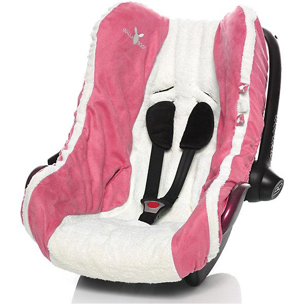Wallaboo Чехол в автокресло, гр.0, Wallaboo, розовый