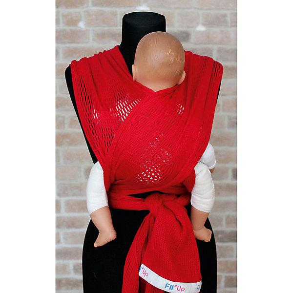 Filt Слинг-шарф из хлопка плетеный размер s-m, Филап, Filt, красный