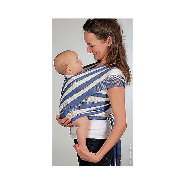 Filt Слинг-шарф из хлопка плетеный размер l-xl, Филап, Filt, сине-бежевый