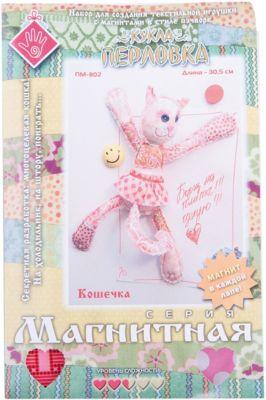 Набор для изготовления игрушки  Кошечка , Перловка, артикул:5445435 - Рукоделие и поделки