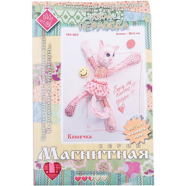 Набор для изготовления игрушки  Кошечка , Перловка - Рукоделие и поделки