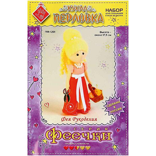 Перловка Набор для изготовления игрушки Фея Рукоделия, Перловка