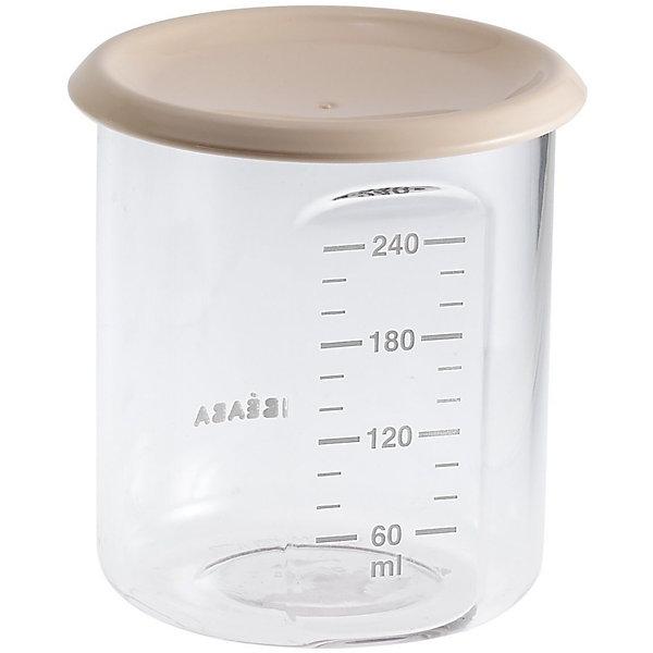 BÉABA Контейнер для хранения Maxi Portion 240мл, Beaba, бежевый