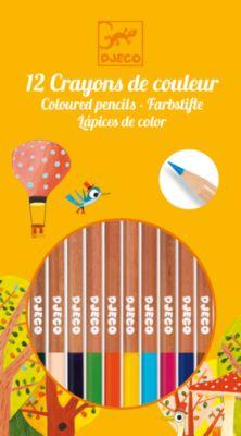 Набор из 12 карандашей, DJECO, артикул:5448830 - Рисование и раскрашивание