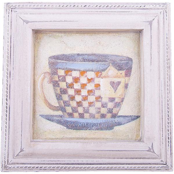 Картина - репродукция Чашка чая, Феникс-ПрезентДетские предметы интерьера<br>Картина - репродукция Чашка чая, Феникс-Презент <br><br>Характеристики:<br><br>• печать на бумаге<br>• дополнена ручной подрисовкой<br>• основа из МДФ<br>• рамка из МДФ<br>• размер: 23,5х23,5х2 см<br><br>Чашка чая - картина-репродукция, которая отлично подойдет к интерьеру любой комнаты. Она придаст интерьеру индивидуальность и стиль. На картине изображена чашка с чаем. Картина выполнена печатью на бумаге и дополнена ручной подрисовкой. Рамка и основание изготовлены из МДФ.<br><br>Картину - репродукцию Чашка чая, Феникс-Презент вы можете купить в нашем интернет-магазине.<br>Ширина мм: 235; Глубина мм: 235; Высота мм: 200; Вес г: 446; Возраст от месяцев: -2147483648; Возраст до месяцев: 2147483647; Пол: Унисекс; Возраст: Детский; SKU: 5449570;