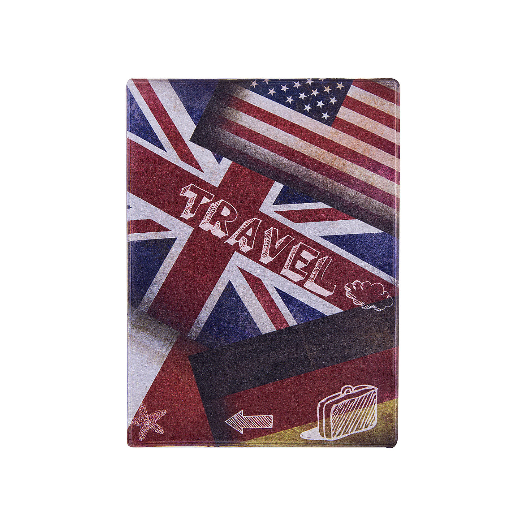 Обложка для паспорта Флаги, Феникс-Презент