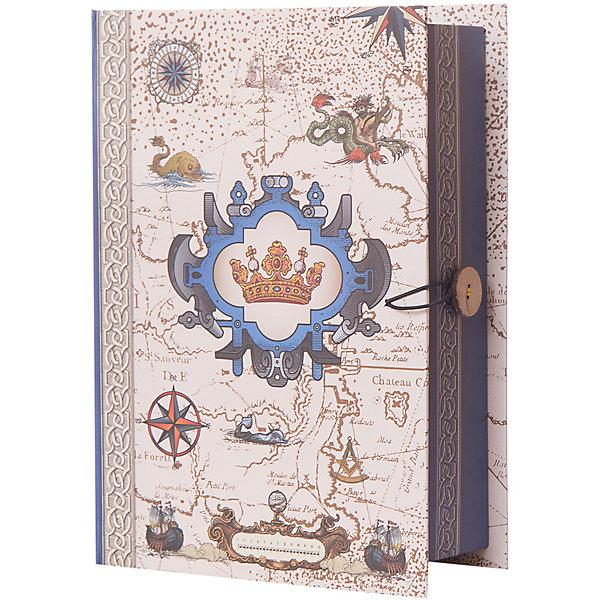 Коробка подарочная Путь в новый свет, Феникс-ПрезентУпаковка новогоднего подарка<br>Коробка подарочная Путь в новый свет, Феникс-Презент<br><br>Характеристики:<br><br>• яркий дизайн<br>• застегивается на пуговицу<br>• рисунок с внутренней и наружной стороны<br>• изготовлена из мелованного, ламинированного негофрированного картона<br>• плотность: 1100 г/м2<br>• размер: 20х14х6 см<br><br>Подарочная коробка Путь в новый свет отлично подходит для оригинальной упаковки подарков. Она изготовлена из плотного картона и оформлена ярким рисунком с морской тематикой. Коробка застегивается с помощью пуговицы. С такой оригинальной упаковкой получатель подарка будет в восторге!<br><br>Коробку подарочную Путь в новый свет, Феникс-Презент вы можете купить в нашем интернет-магазине.<br>Ширина мм: 200; Глубина мм: 140; Высота мм: 60; Вес г: 178; Возраст от месяцев: 36; Возраст до месяцев: 2147483647; Пол: Унисекс; Возраст: Детский; SKU: 5449632;