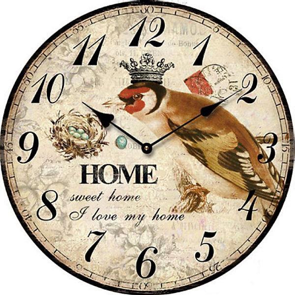 Часы настольные Король птиц кварцевые, с циферблатом, Феникс-ПрезентДетские предметы интерьера<br>Часы настольные Король птиц кварцевые, с циферблатом, Феникс-Презент<br><br>Характеристики:<br><br>• яркий рисунок<br>• тип часов: кварцевые<br>• размер: 10х10 см<br>• материал: МДФ<br>• батарейки: АА - 1 шт. (не входит в комплект)<br><br>Настольные часы Король птиц всегда подскажут вам точное время, а также украсят интерьер комнаты. Часы изготовлены из МДФ. Циферблат оформлен красивым рисунком с изображением соловья. На часах расположены две стрелки - минутная и часовая. Сзади располагается надежная подставка для стола.<br><br>Часы настольные Король птиц кварцевые, с циферблатом, Феникс-Презент вы можете купить в нашем интернет-магазине.<br>Ширина мм: 100; Глубина мм: 100; Высота мм: 100; Вес г: 177; Возраст от месяцев: 120; Возраст до месяцев: 2147483647; Пол: Унисекс; Возраст: Детский; SKU: 5449702;