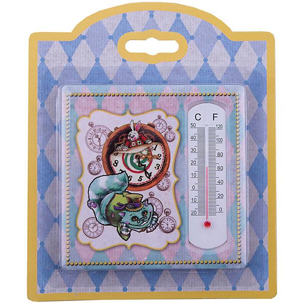 Феникс-Презент Термометр декоративный, в корпусе из доломитовой керамики, Феникс-Презент термометр д бани жидкостный 200х42х18мм