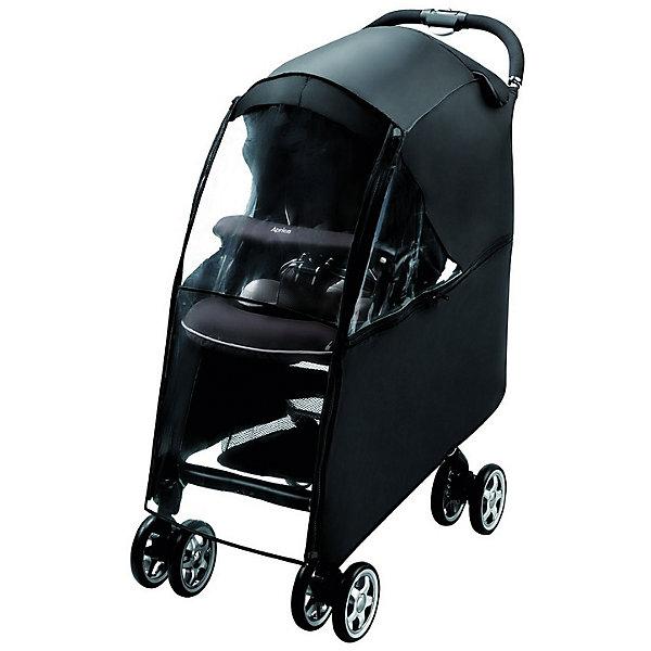 Aprica Дождевик Air Ria (BK), Aprica дождевик для детской коляски в асс те
