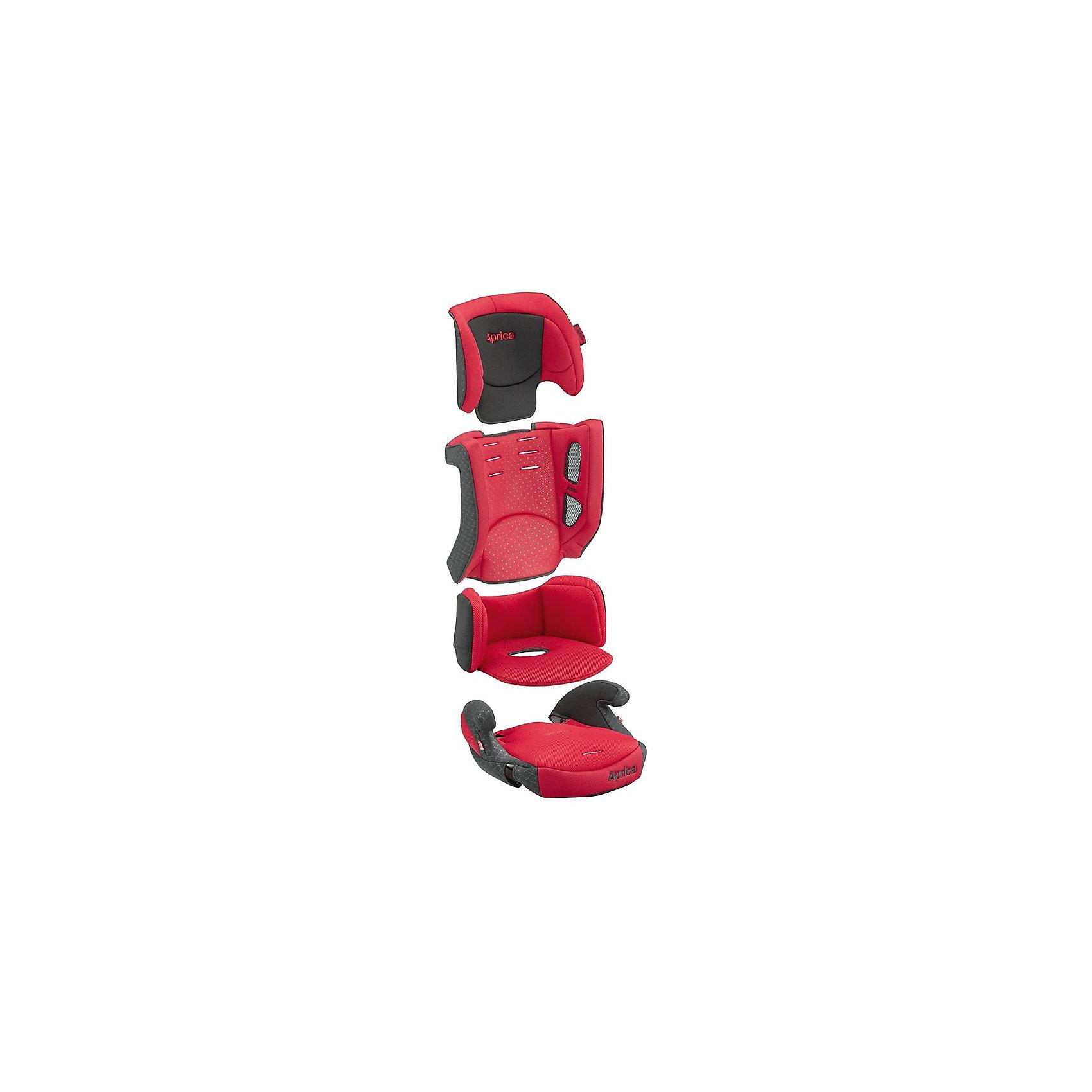 Автокресло Aprica AirGroove Plus 2016/17, 9-36 кг, красный
