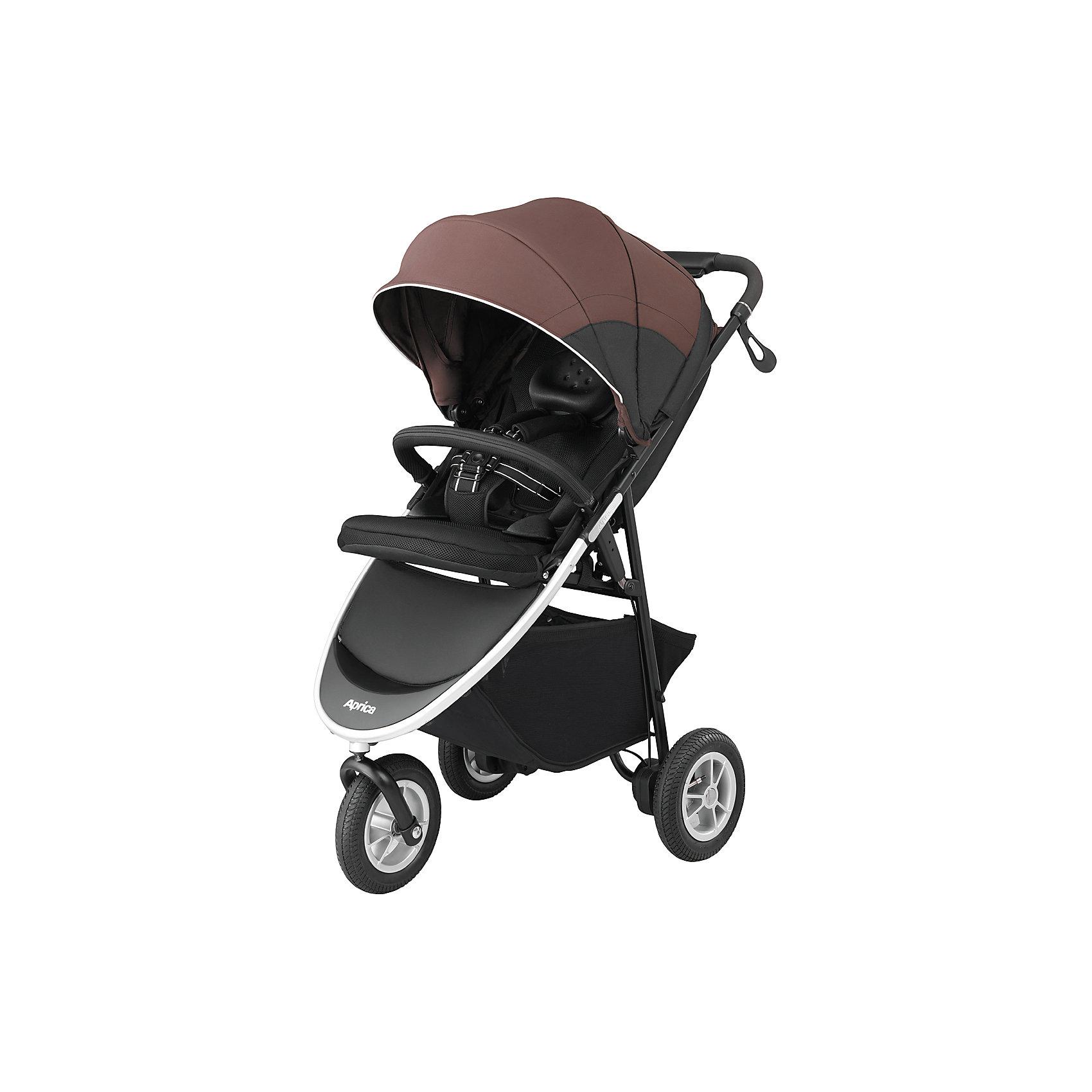 Прогулочная коляска Aprica Smooove, коричневый