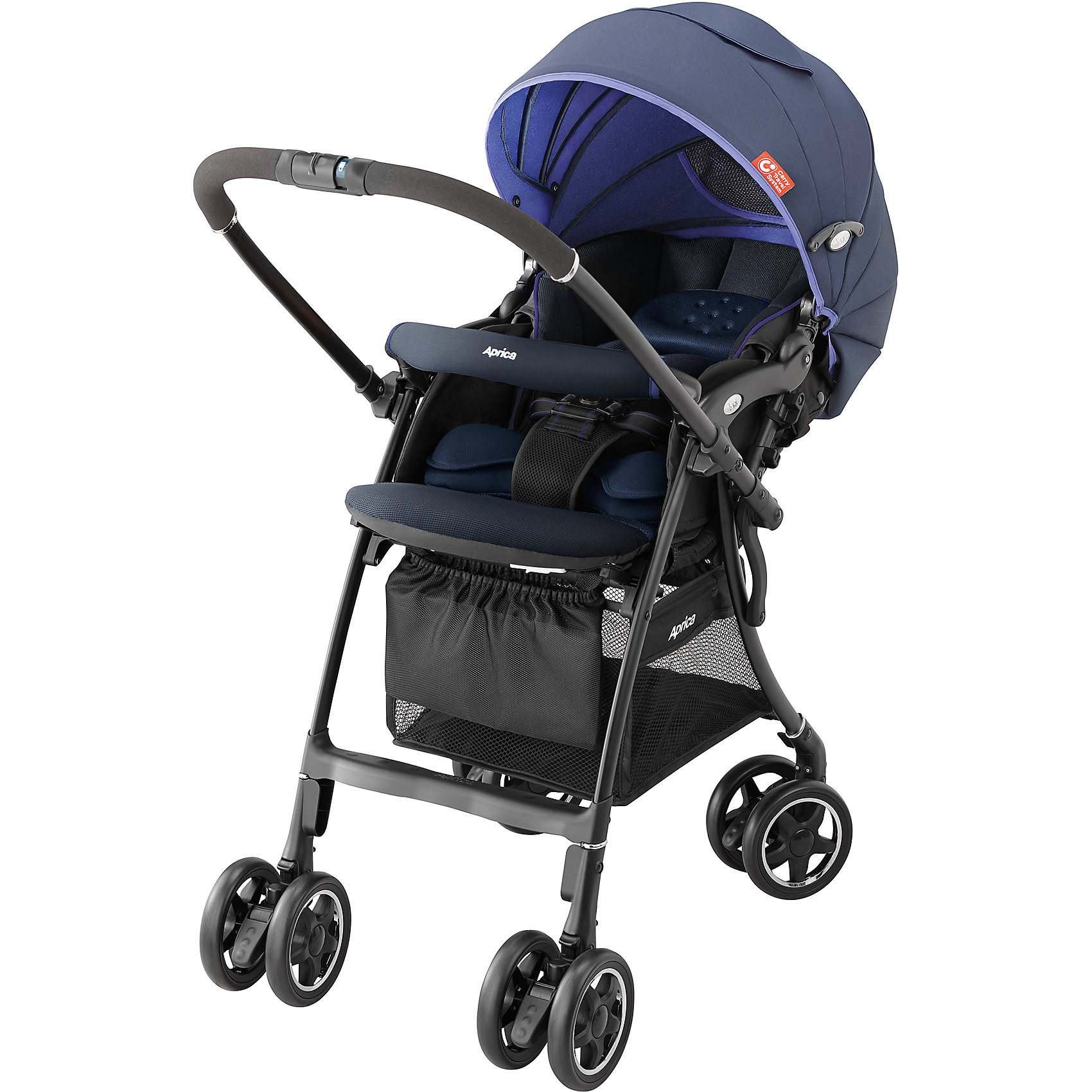 Прогулочная коляска Aprica Luxuna CTS, синий