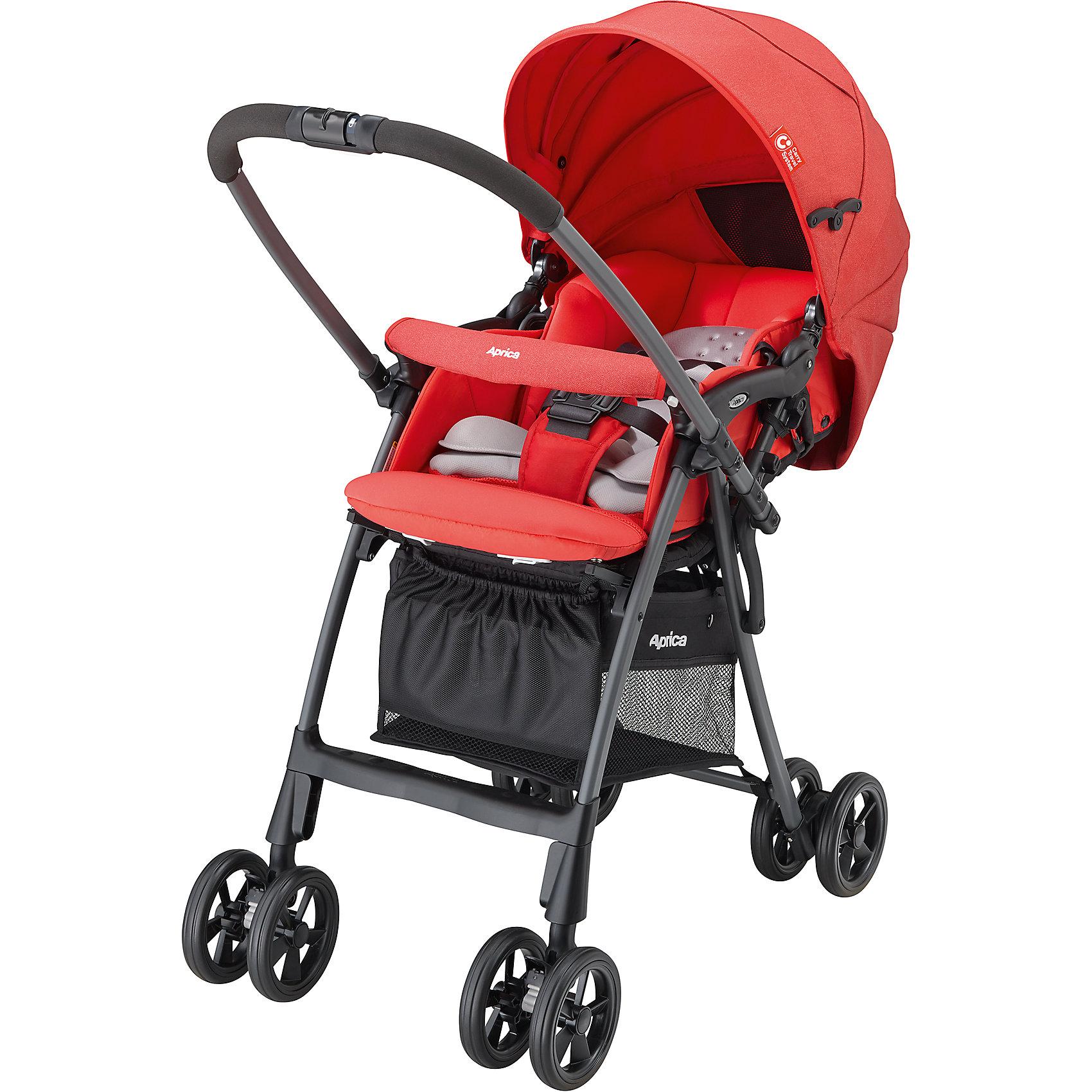 Прогулочная коляска Aprica Luxuna Light CTS, алый